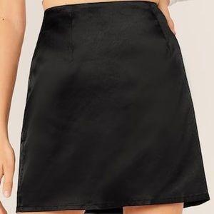 Oscar De La Renta Satin Skirt
